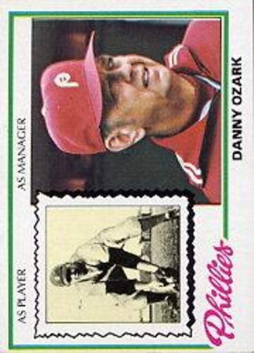 Photo of 1978 Topps #631 Danny Ozark MG
