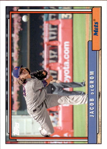 Photo of 2017 Topps Archives #212 Jacob deGrom