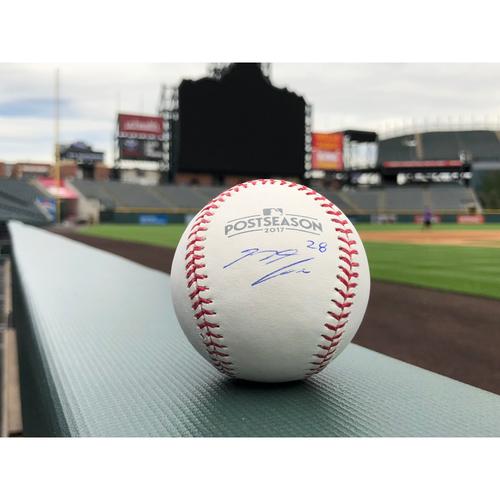Photo of Colorado Rockies Nolan Arenado Autographed Baseball