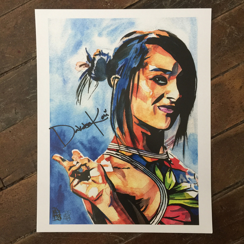 Photo of Dakota Kai SIGNED 11 x 14 Rob Schamberger Print