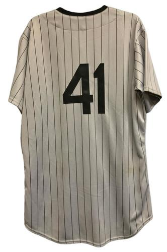 Photo of Junior Guerra Game-Used Milwaukee Bears Jersey and Pants