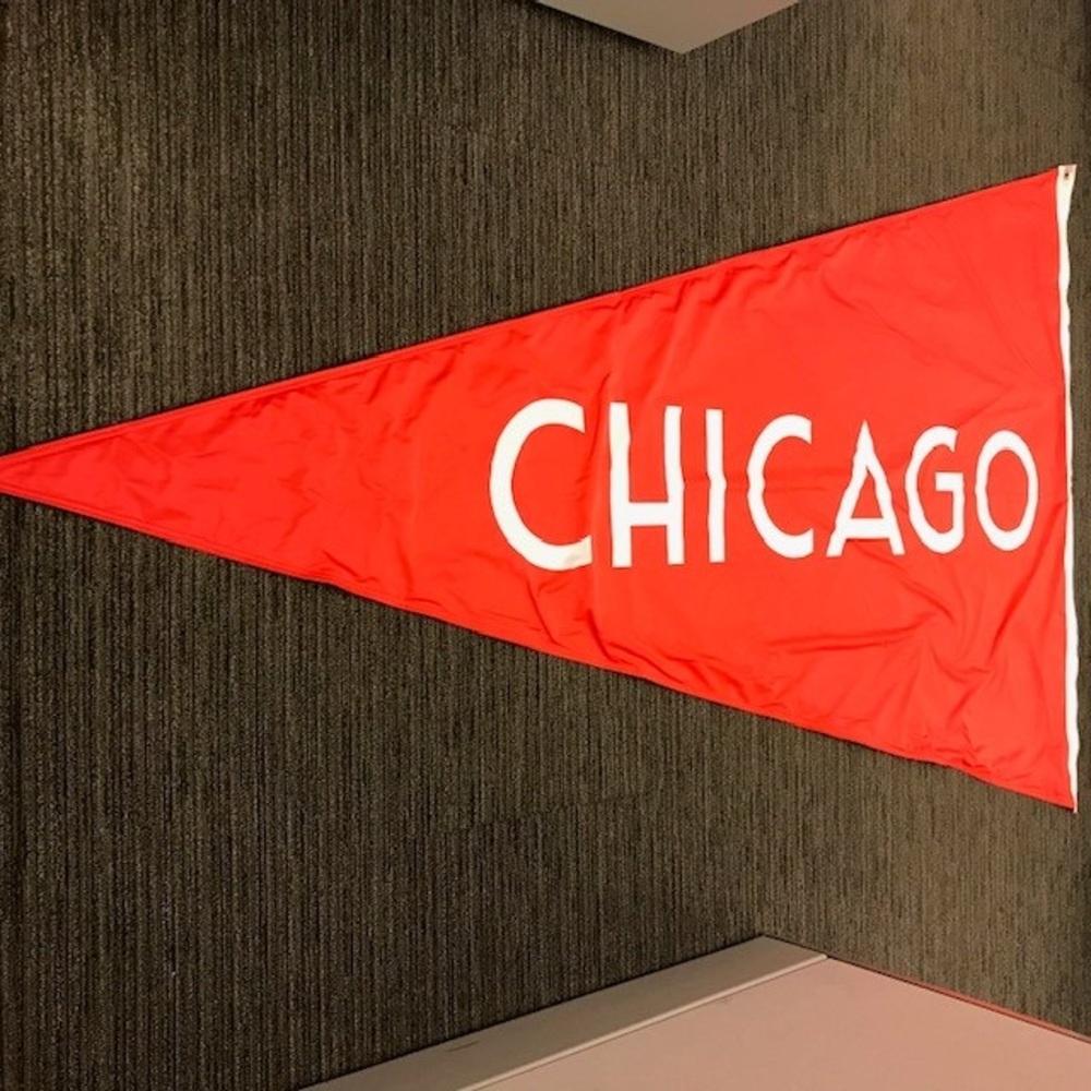 2019 NHL Winter Classic Chicago Blackhawks Flag