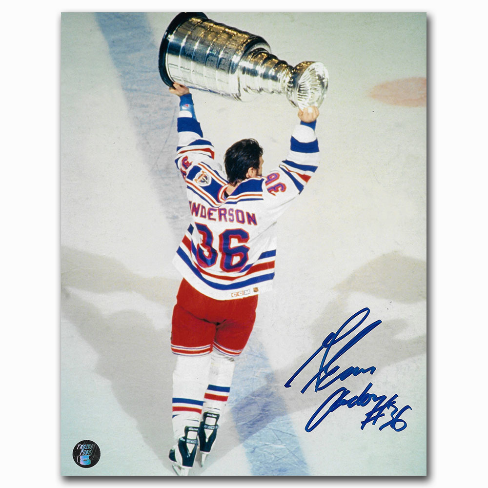 Glenn Anderson Autographed New York Rangers 8X10 Photo