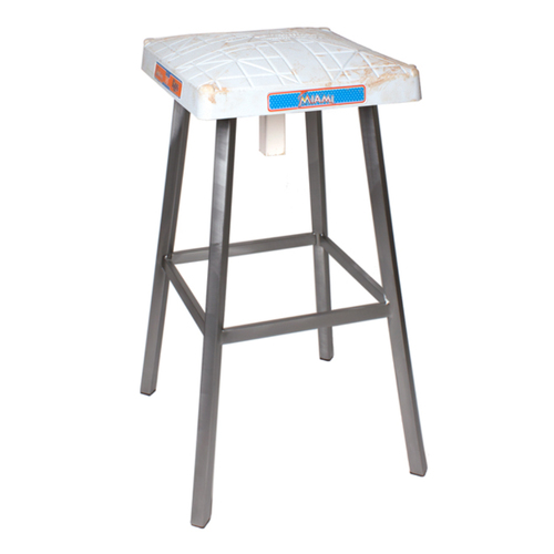 Photo of Tokens & Icons Miami Marlins Game Used Base Stool