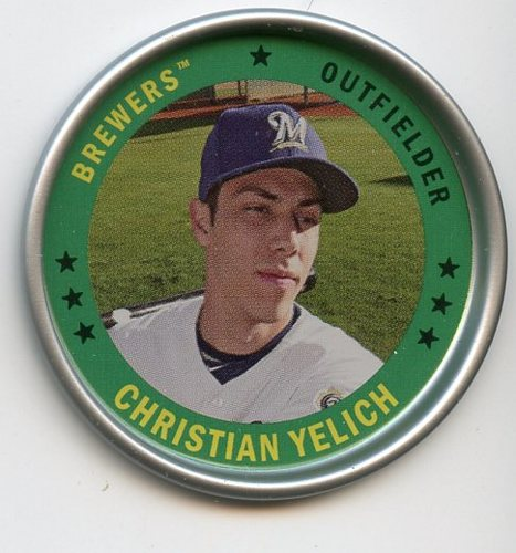 Photo of 2019 Topps Archives Coins #C15 Christian Yelich