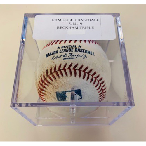 Game-Used Baseball: Gordon Beckham Triple