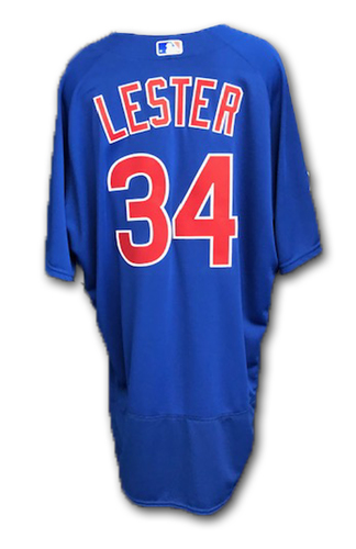 Photo of Jon Lester Team-Issued Spring Training Jersey -- Spring Training 2019 -- Size 52
