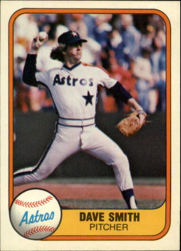 Photo of 1981 Fleer #71 Dave Smith RC