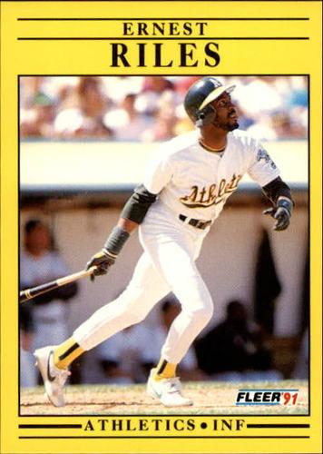 Photo of 1991 Fleer Update #51 Ernest Riles