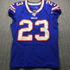 Crucial Catch - Bills Micah Hyde Game Used Jersey (10/6/19) Size 38