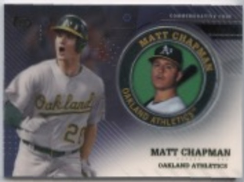 Photo of 2020 Topps Player Medallions #TPMMC Matt Chapman