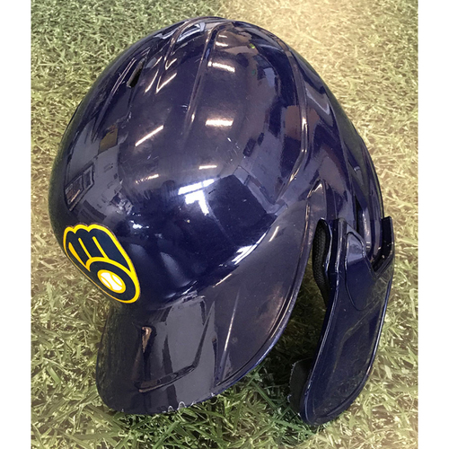 Photo of Orlando Arcia 2020 Game-Used Batting Helmet