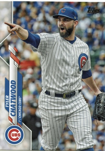 Photo of 2020 Topps #698 Tyler Chatwood
