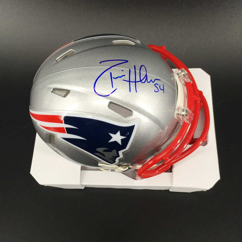 NFL - Patriots Don'ta Hightower Signed Mini Helmet