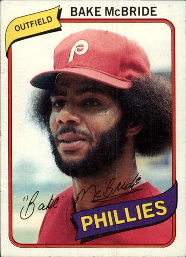 Photo of 1980 Topps #495 Bake McBride