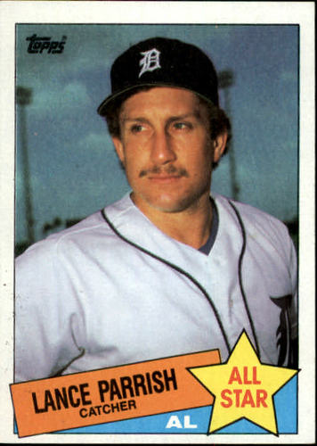 Photo of 1985 Topps #708 Lance Parrish AS
