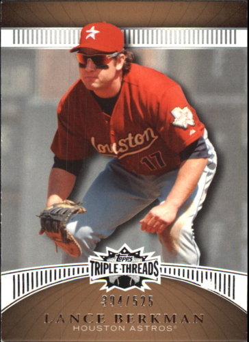 Photo of 2010 Topps Triple Threads Sepia #96 Lance Berkman