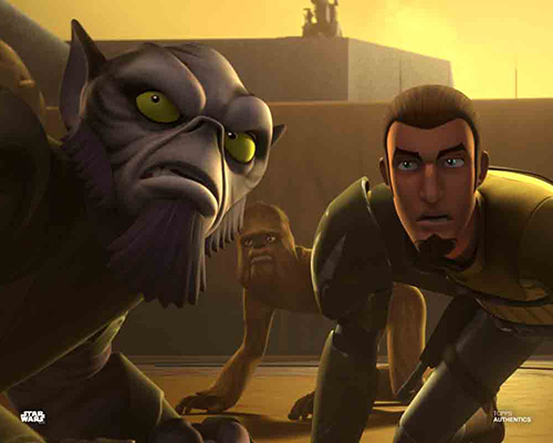 Zeb Orrelios and Kanan Jarrus