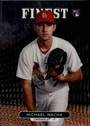 Photo of 2013 Finest #3 Michael Wacha Rookie Card