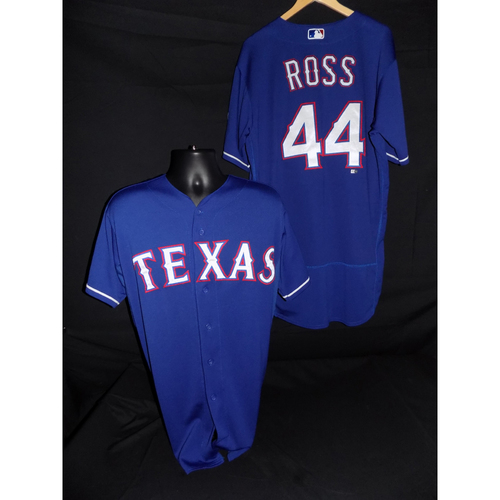 Photo of Tyson Ross Game-Used Blue Jersey - Size 48