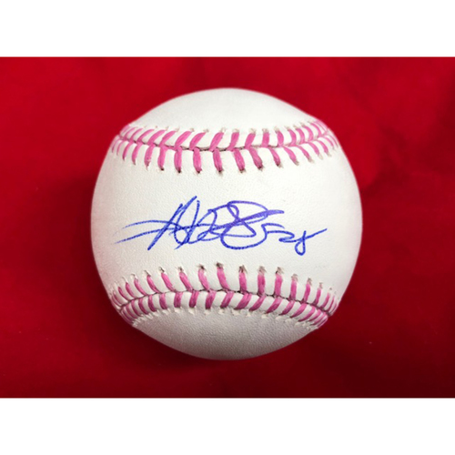 Photo of Anthony DeSclafani -- Autographed Mother's Day Baseball
