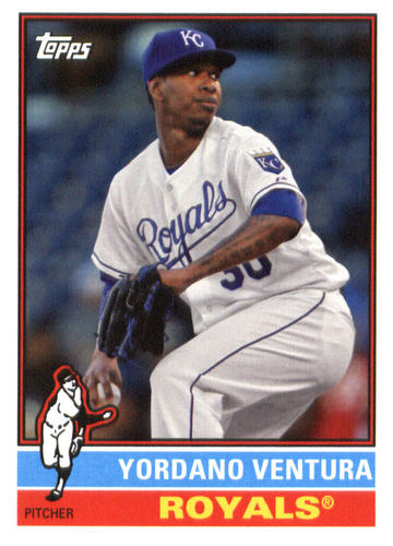 Photo of 2015 Topps Archives #144 Yordano Ventura