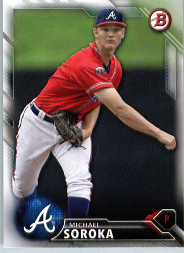 Photo of 2016 Bowman Prospects #BP82 Michael Soroka