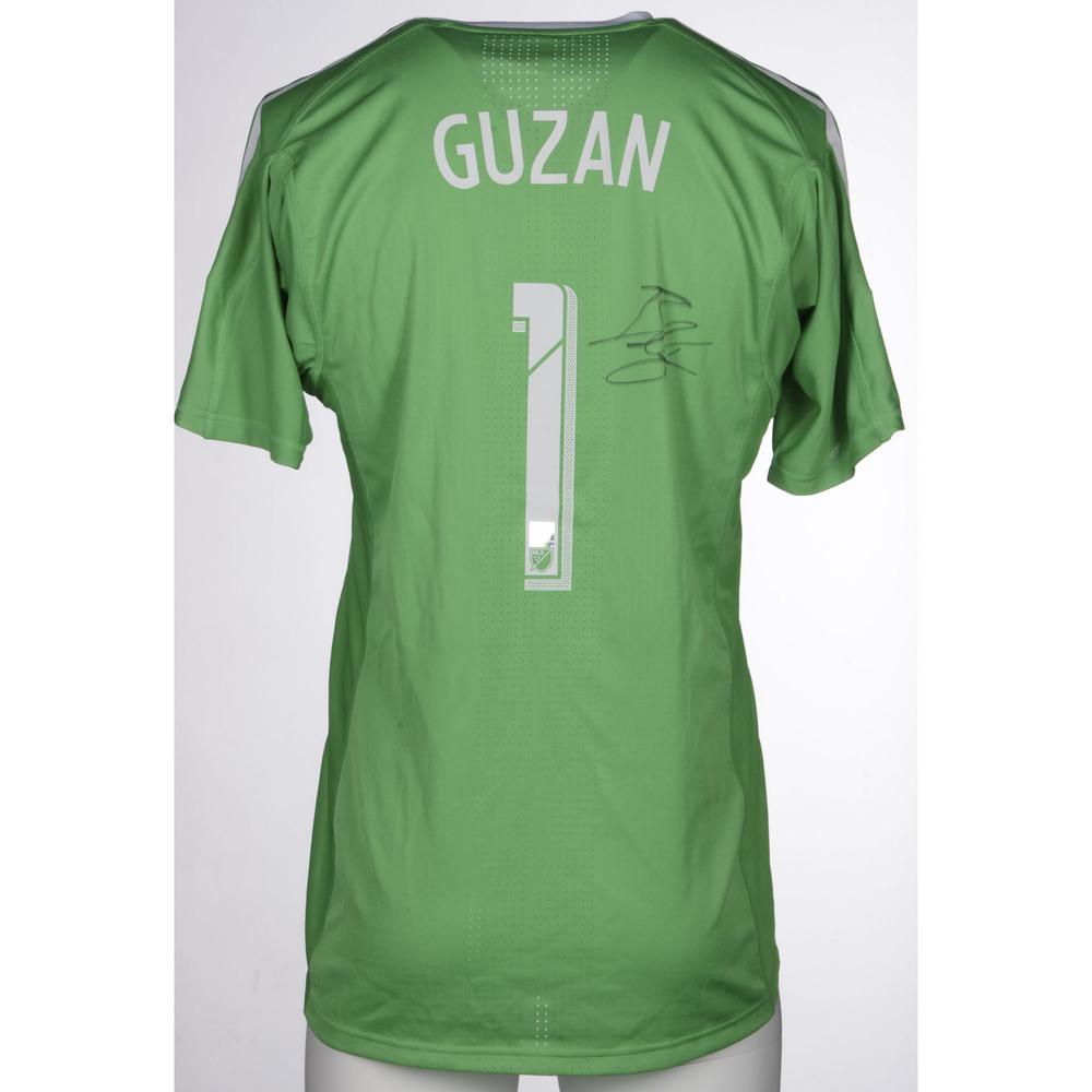low cost e29da 5cd25 Brad Guzan Atlanta United, Autographed 2017 Match-Worn ...
