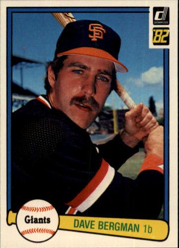 Photo of 1982 Donruss #146 Dave Bergman
