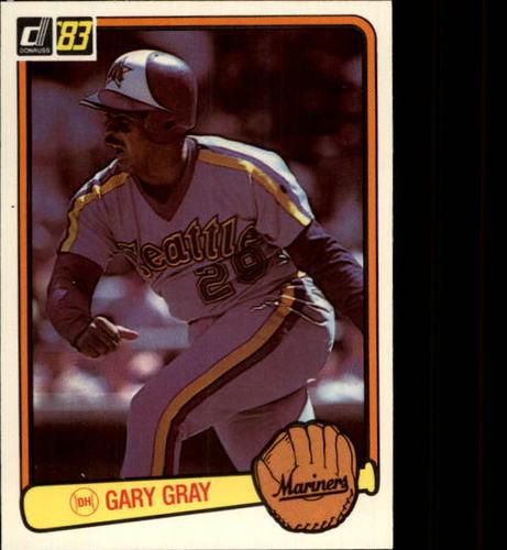 Photo of 1983 Donruss #637 Gary Gray