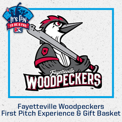 Photo of Fayetteville Woodpeckers First Pitch Experience & Gift Basket
