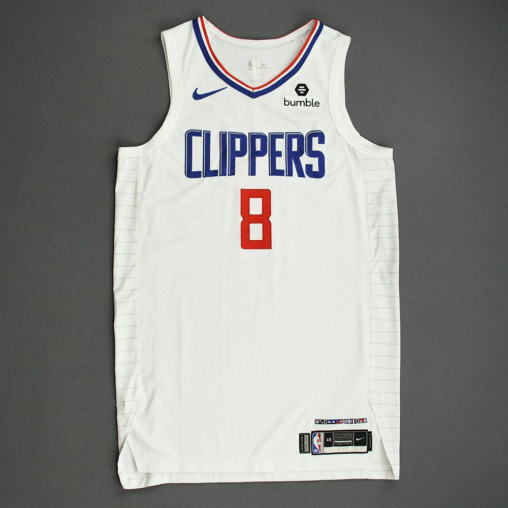 Maurice Harkless - Los Angeles Clippers - Game-Worn Association Edition Jersey - NBA Canada Series - 2019-20 NBA Preseason