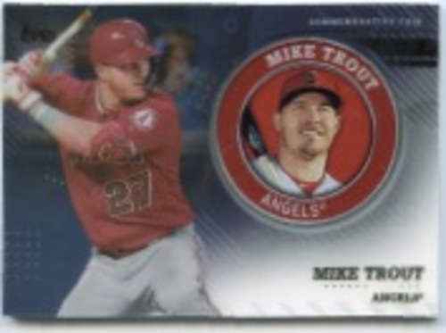 Photo of 2020 Topps Player Medallions #TPMMT Mike Trout