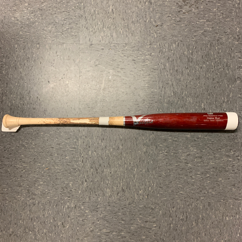 Photo of 2020 Game Used Broken Bat - #33 Darin Ruf - used 7/31/20 vs TEX - B-5: Minor to Ruf - Pop Out - 2 Piece Break