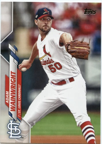 Photo of 2020 Topps #700 Adam Wainwright