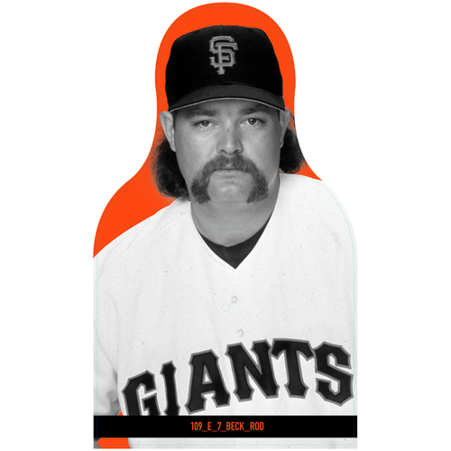 Photo of Giants Community Fund: Giants Rod Beck Cutout