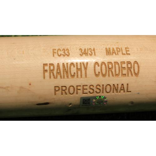 Photo of Team-Issued Broken Bat: Franchy Cordero #19