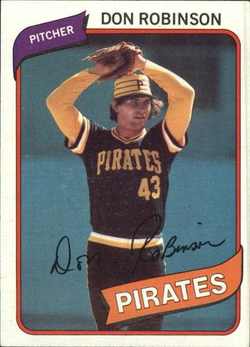 Photo of 1980 Topps #719 Don Robinson