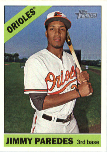 Photo of 2015 Topps Heritage #525 Jimmy Paredes