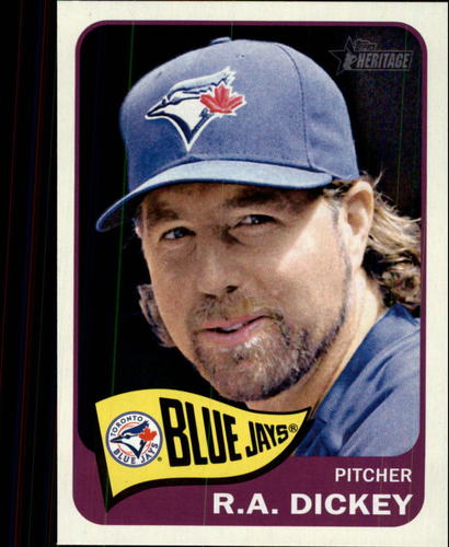 Photo of 2014 Topps Heritage #306 R.A. Dickey