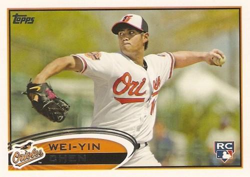 Photo of 2012 Topps #432 Wei-Yin Chen RC