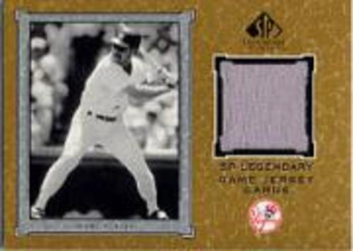 Photo of 2001 SP Legendary Cuts Game Jersey #JWB Wade Boggs Jsy