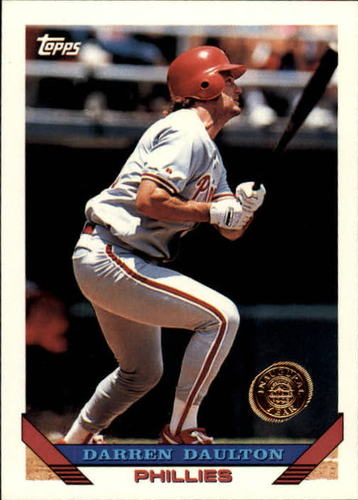 Photo of 1993 Topps Inaugural Rockies #180 Darren Daulton