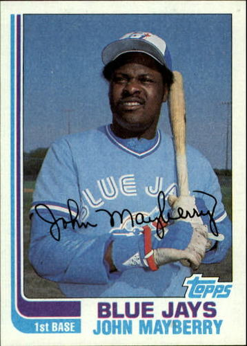 Photo of 1982 Topps #470 John Mayberry