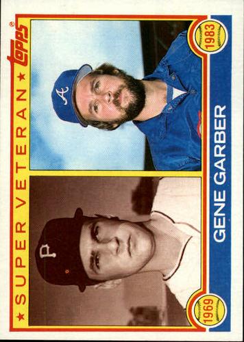 Photo of 1983 Topps #256 Gene Garber SV