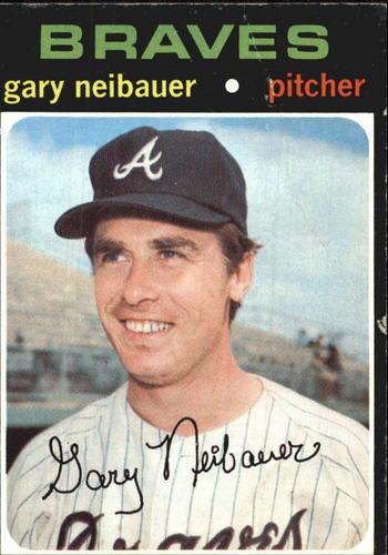 Photo of 1971 Topps #668 Gary Neibauer