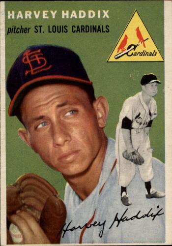 Photo of 1954 Topps #9 Harvey Haddix