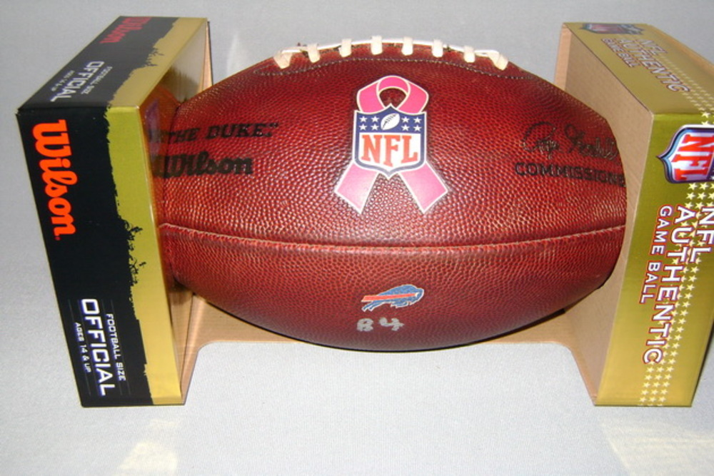 BILLS - GAME USED FOOTBALL W/ BCA RIBBON LOGO VS 49ERS (OCTOBER 16 2016)