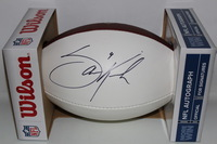 NFL - RAVENS SAM KOCH SIGNED PANEL BALL