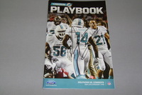 DOLPHINS - JARVIS LANDRY SIGNED FINSIDERS PLAYBOOK PROGRAM (DOLPHINS VS COWBOYS AUGUST 23, 2014)